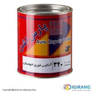 رنگ آلبالویی فوری چوب و اتومبیل پارس اشن کد320
