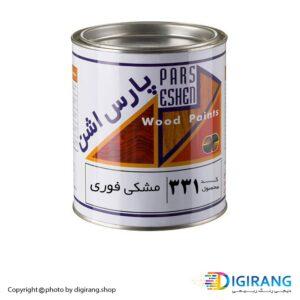 رنگ مشکی فوری چوب پارس اشن کد 331