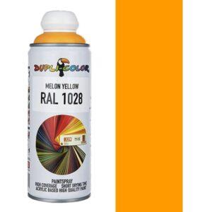 اسپری رنگ دوپلی کالر زرد کاترپیلایی Melon Yellow کد 1028