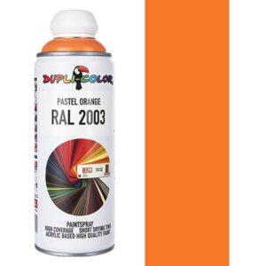 اسپری رنگ دوپلی کالر نارنجی روشن Pastel Orange کد 2003