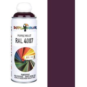 اسپری رنگ دوپلی کالر بنفش بادمجانی Purple Violet کد 4007