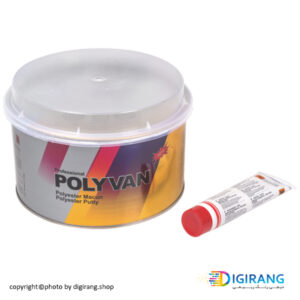 بتونه سنگی پلی وان دو کیلویی کد PV2 همراه با خشک کن