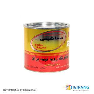 رنگ روغنی رویه نیمه براق آلکیدی 4 کیلویی صفاشیمی کد 750