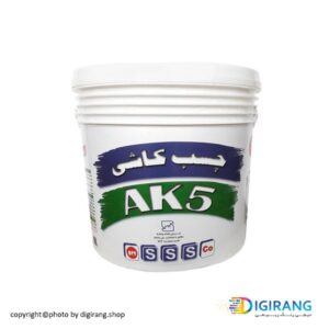 چسب کاشی خمیری شیمی ساختمان 5 کیلویی کد AK5