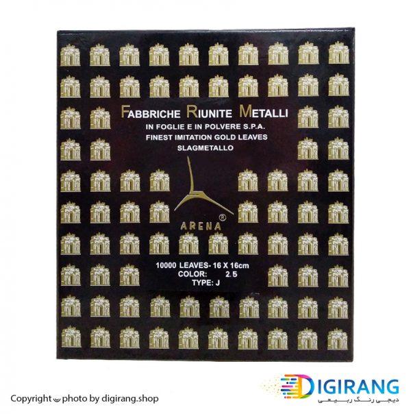 ورق دکوراتیو طلا 100 عددی آرنا ARENA شماره 2.5