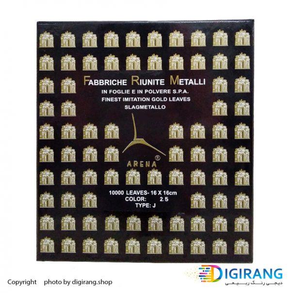 ورق دکوراتیو طلا 500 عددی آرنا ARENA شماره 2.5