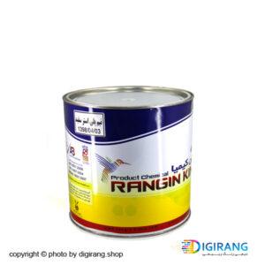 نیم پلی استر سفید براق رنگین کیمیا 1 کیلویی کد 123 به همراه خشک کن