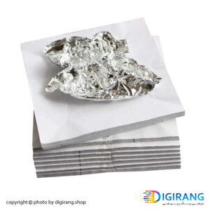 ورق دکوراتیو نقره ای آرنا 10000 عددی ARENA مدل (Aluminum)