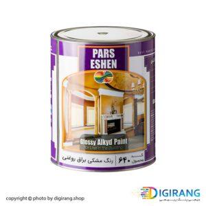 رنگ مشکی براق روغنی پارس اشن کد 640